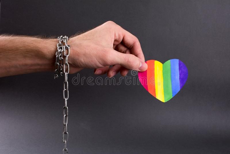 LGBT-Onderscheid royalty-vrije stock fotografie