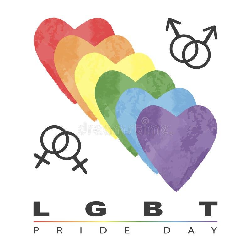 LGBT Pride Day stock illustratie
