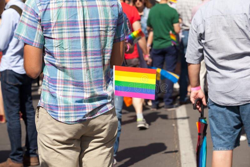 LGBT pride. Lesbian, gay, bisexual and transgender LGBT pride royalty free stock photos