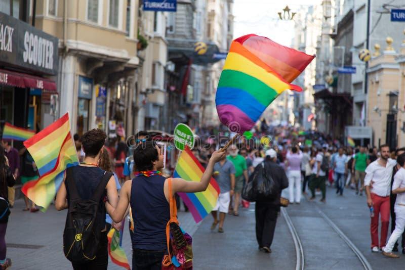 22. LGBT Pride March stock photos