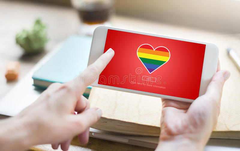Lgbt stolt homosexuellt bisexuellt Transgenderbegrepp arkivfoton