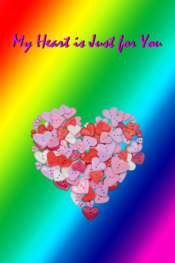 LGBT Valentines Day Card Valentines Day party invitation flyer background stock photos