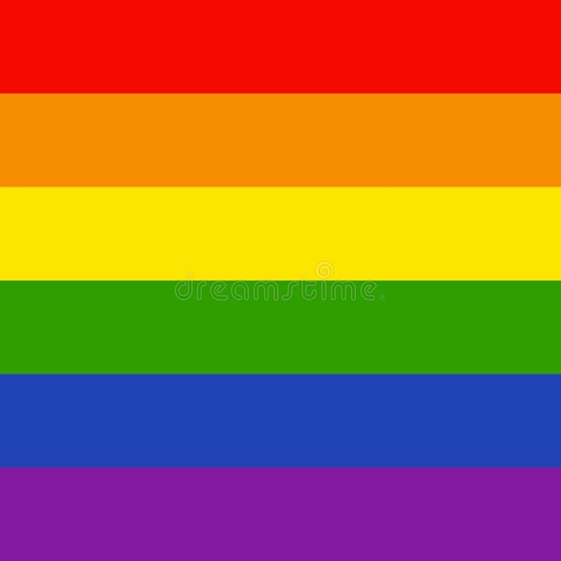 LGBTQ-Hintergrund vektor abbildung