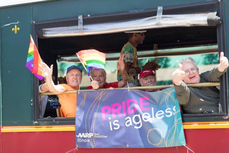 LGBTQ Pride Parade 2018 royalty-vrije stock fotografie