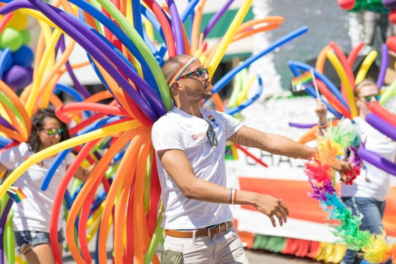 LGBTQ Pride Parade 2018 stock photos