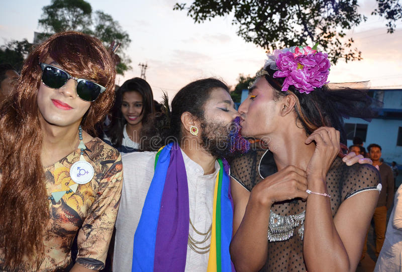 LGBTQlesbian, Homosexuelles, Bisexuals, Transgenders stockfotos