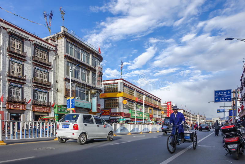 lhasa royalty-vrije stock fotografie