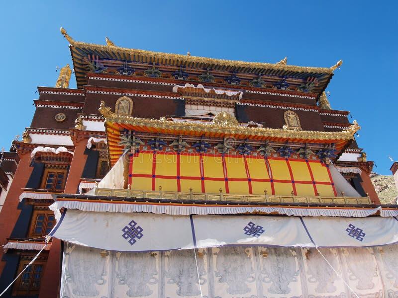 lhasa pałac potala Tibet wierzchołek fotografia stock
