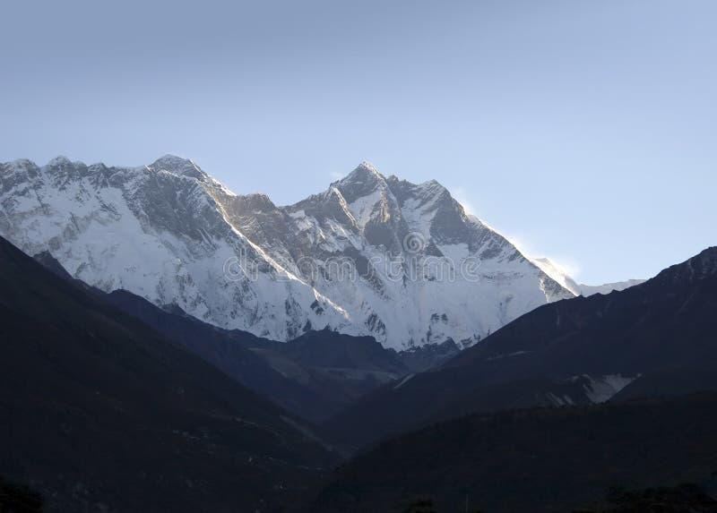 Lhotse - Nepal royalty-vrije stock fotografie