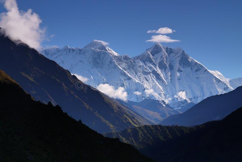 Download Lhotse peak stock image. Image of peaks, blue, nepal - 17126409