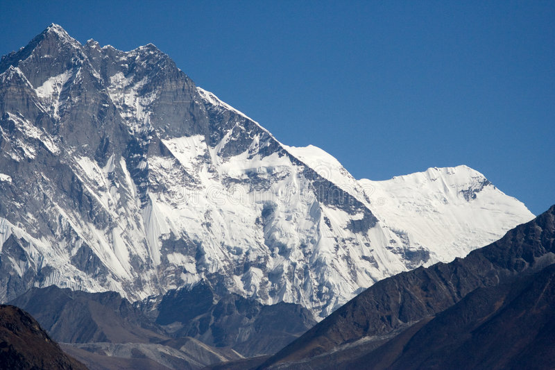 Lhotse Ridge imagem de stock royalty free