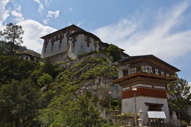 Lhuentse Dzong au Bhutan - en Asie orientaux photo libre de droits