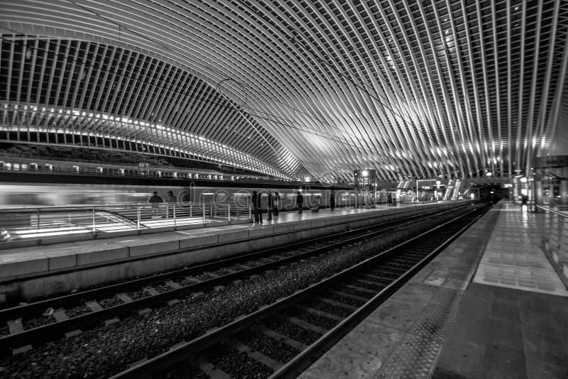 Liège - Guillemins-post stock fotografie