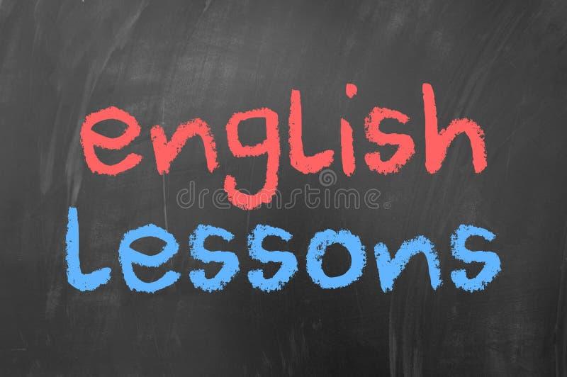 Lições inglesas fotos de stock