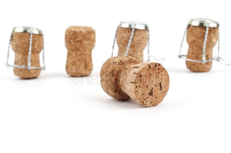 Lièges de Champagne image stock