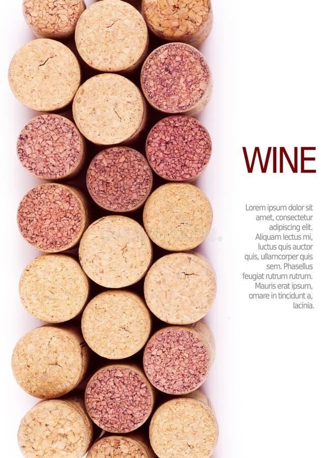 Lièges de vin images libres de droits