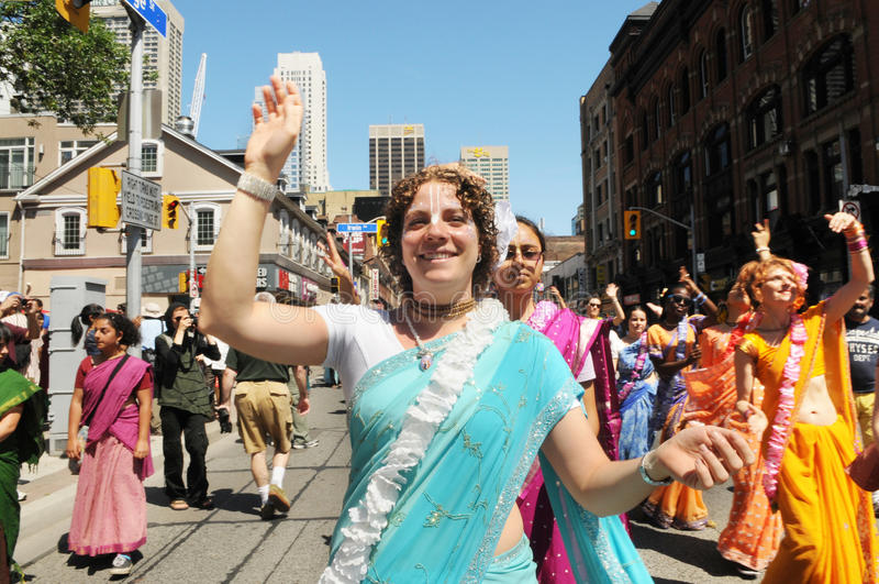 Lièvres Krishna Rally. photos stock