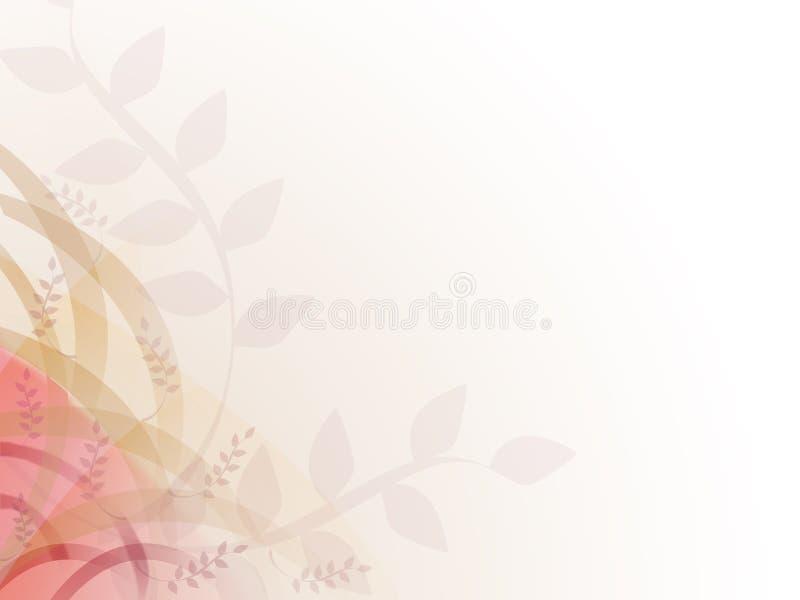 liść abstrakcyjne tło ilustracja wektor