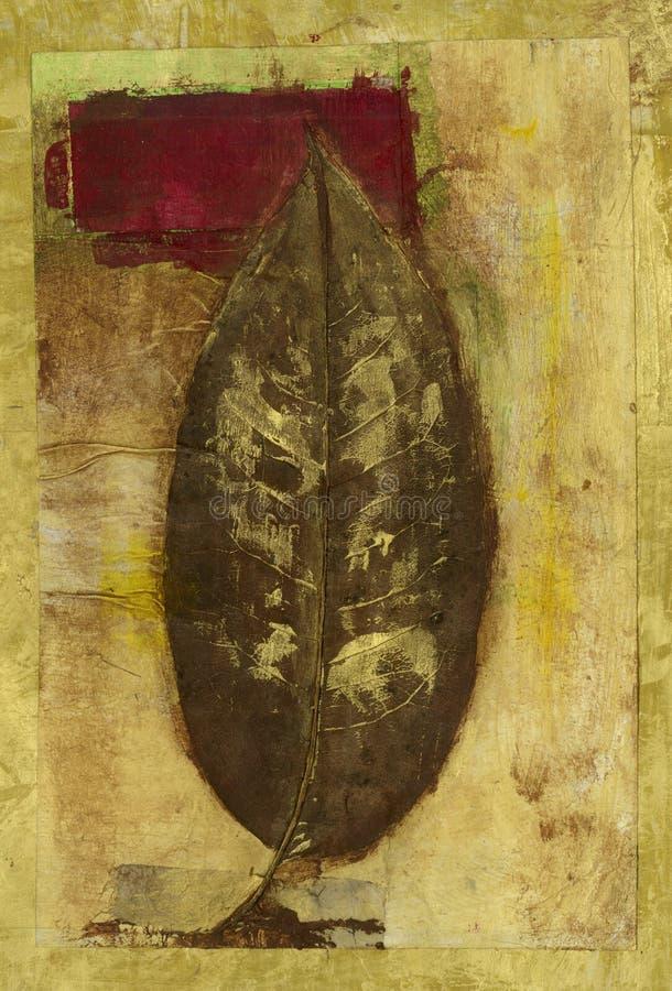 liść czerwień ilustracja wektor