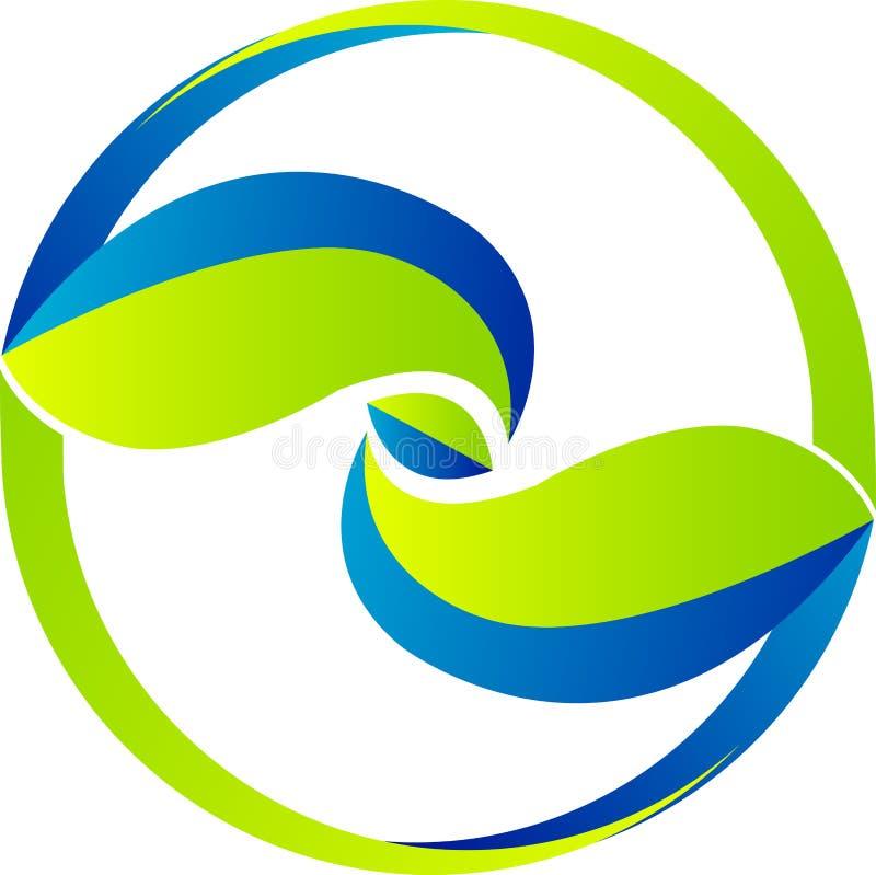 liść logo ilustracji