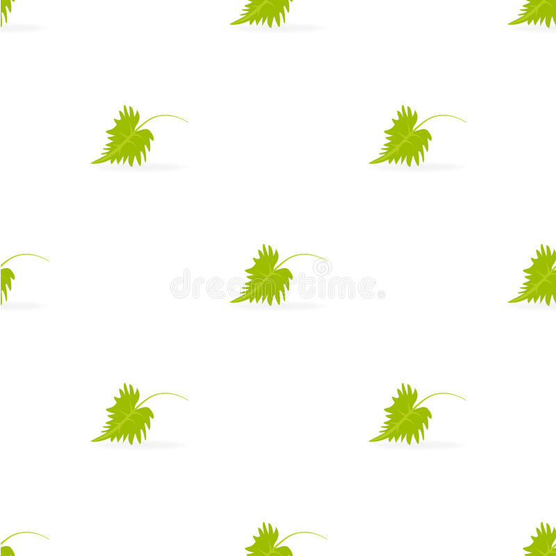Liścia wzór royalty ilustracja