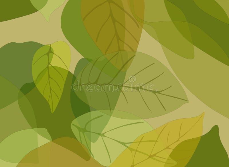 liście ilustracja wektor