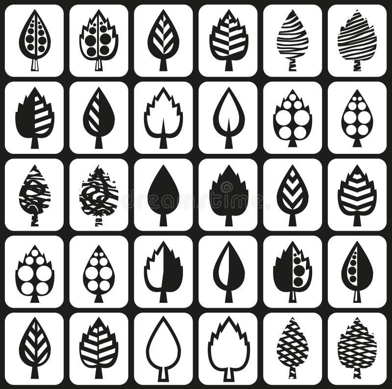 Liście drzewa royalty ilustracja