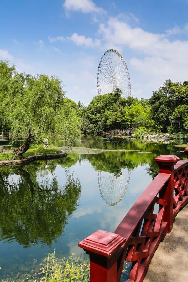 Li Garden, Wuxi City In Jiangsu Province, China Stock Photo - Image ...