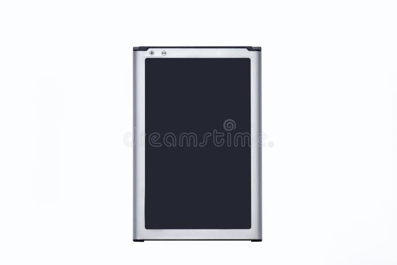 Li-ionenbatterij van smartphone of de mobiele apparaten stock fotografie