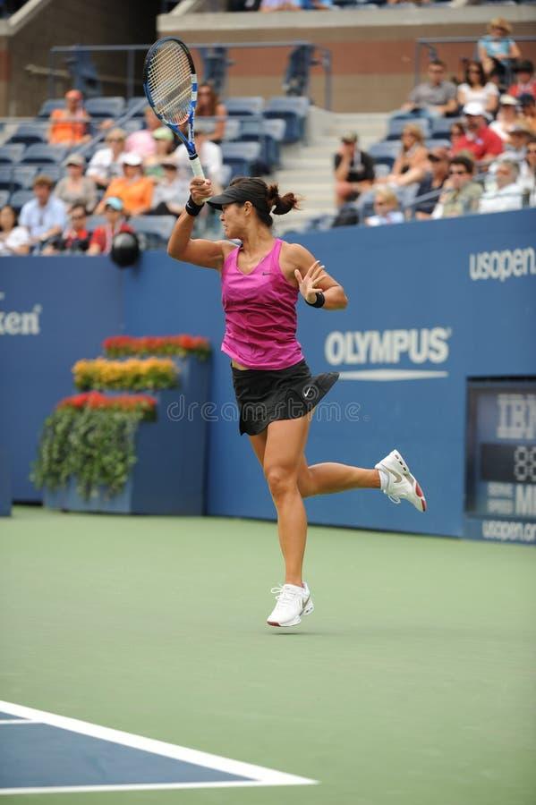 Download Li Na at US Open 2009 (42) editorial photo. Image of jump - 10895986