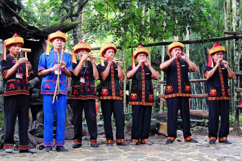 Li narodowości kostium, Hainan prowincja, Chiny