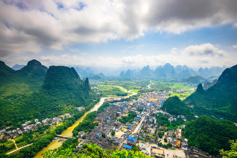 Li River in China stockfoto