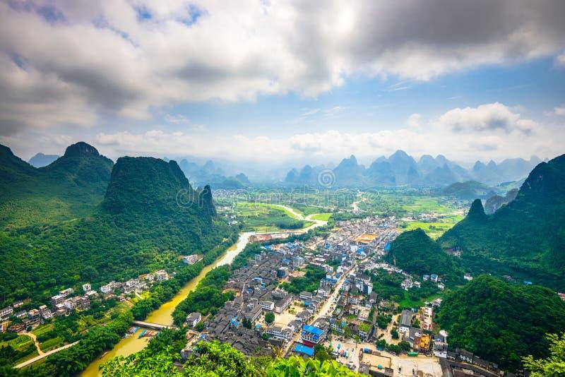 Li River in China stock photo