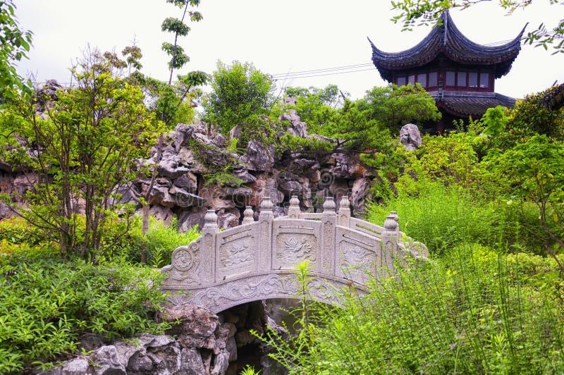Li Yuan Garden Zhaojialou Shanghai China fotos de archivo libres de regalías