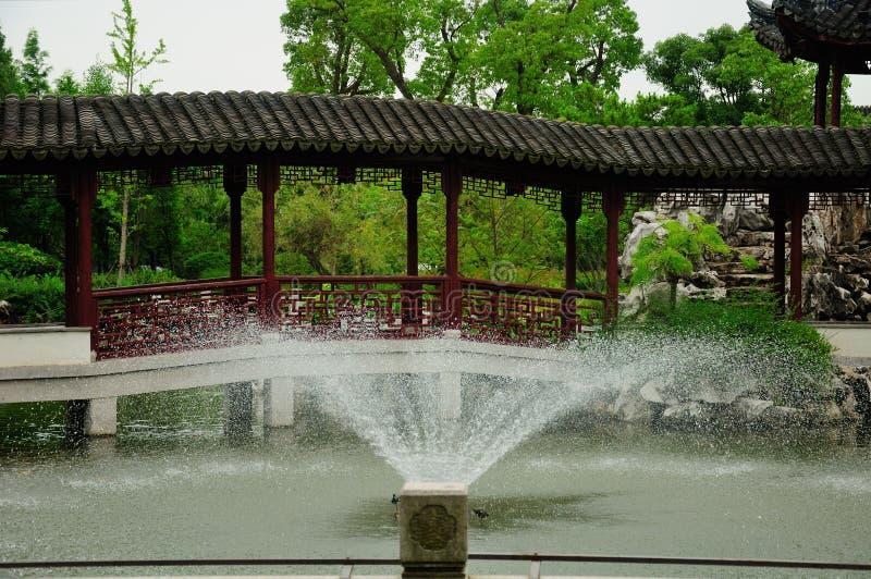Li Yuan Garden In Zhaojialou Shanghai China Stock Photo - Image of ...