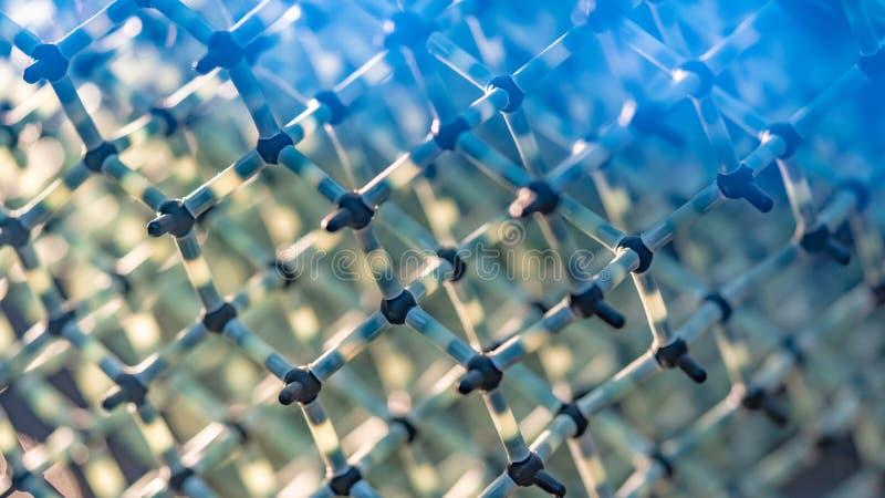 Liaison covalente chimique de molécule d'eau image libre de droits