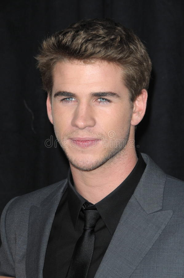 Liam Hemsworth royaltyfria bilder