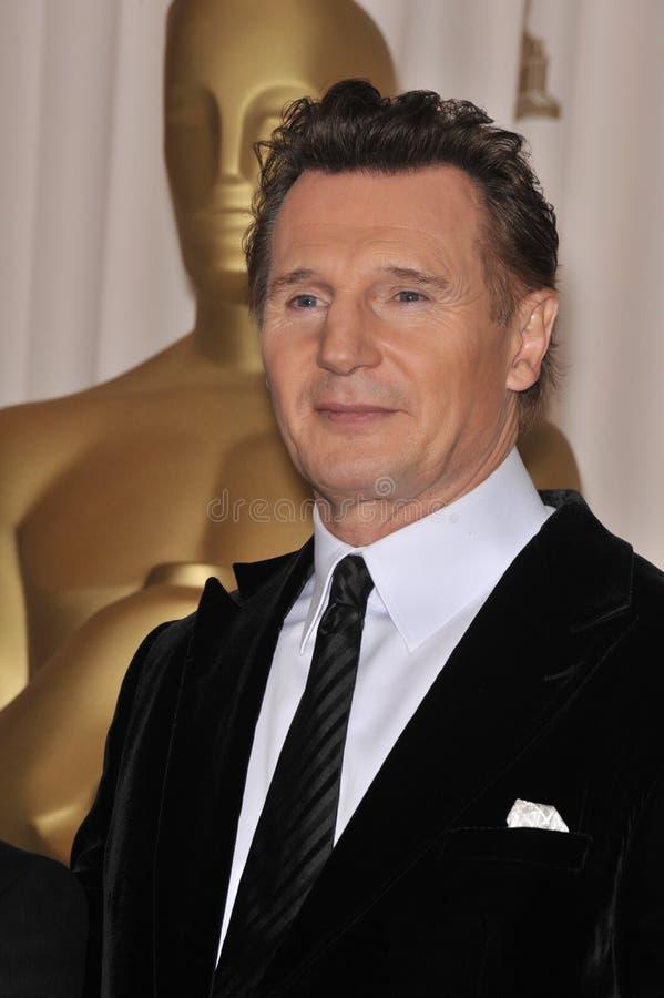 Liam Neeson foto de archivo libre de regalías