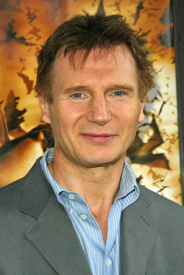 Liam Neeson obraz royalty free