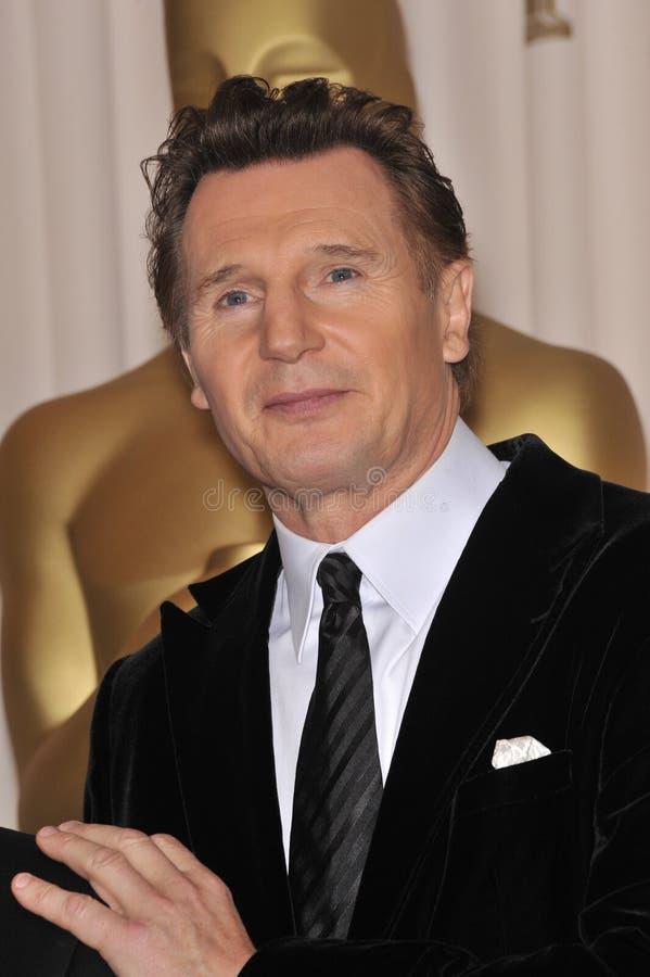 Liam Neeson fotografía de archivo libre de regalías