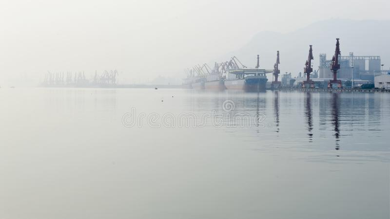 Beautiful Lianyungang. Lianyungang, formerly known as `Haizhou`, is located in the central part of China`s coastal areas, east of the Yellow Sea, with a sea area royalty free stock photography