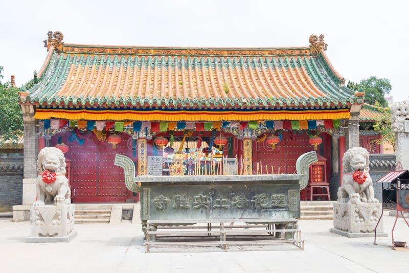 LIAONING, CHINE - 5 août 2015 : Temple de Shisheng a été construit au photographie stock