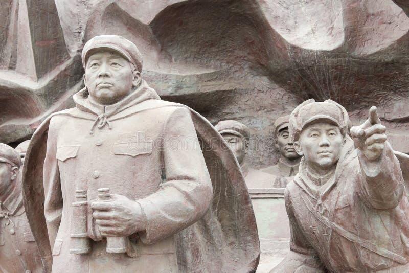 LIAONING, CHINE - 28 juillet 2015 : L'armée volontaire S de personnes chinoises image libre de droits