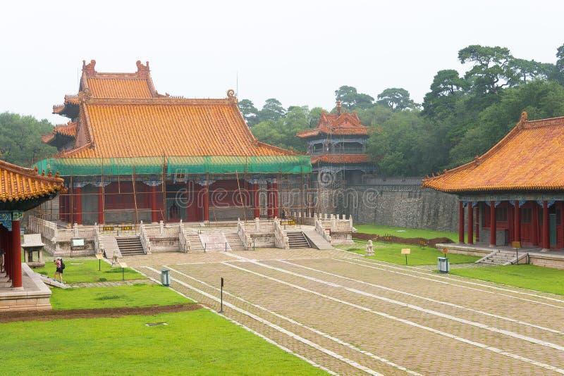 LIAONING, CHINE - 31 juillet 2015 : Tombe de Fuling de Qing Dynasty (U photo stock