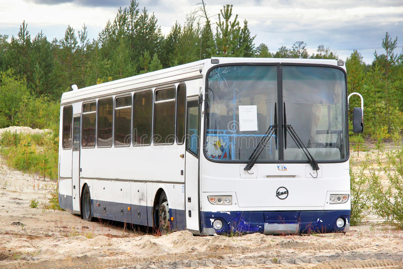 LIAZ 5256 royalty-vrije stock afbeeldingen