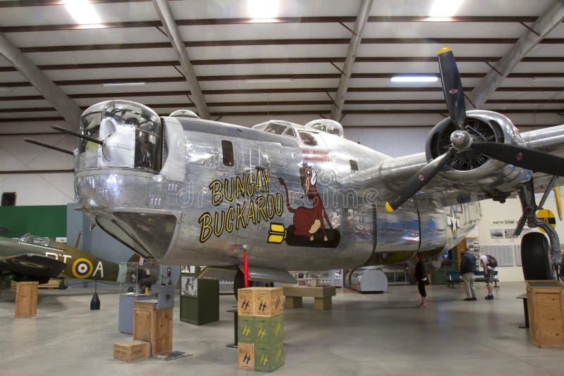 Libérateur de B-24J images libres de droits
