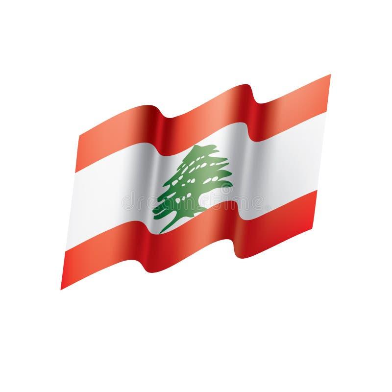 Libańczyk flaga, ilustracja ilustracji
