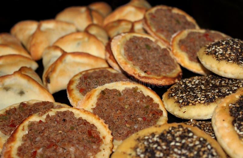 libański jedzenie obraz stock