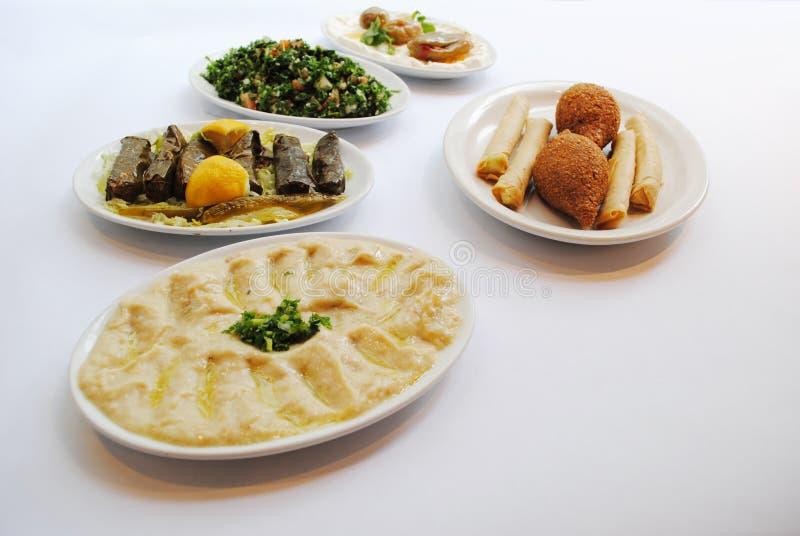 Libański jedzenie zdjęcia stock