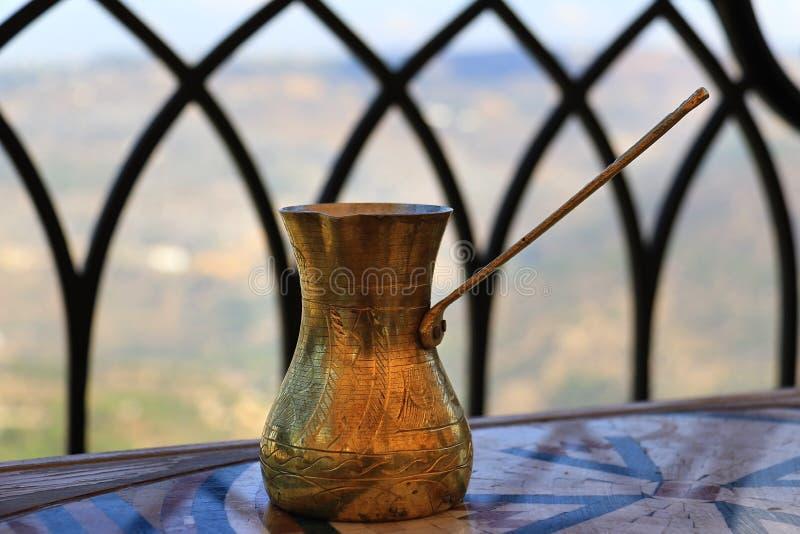 Libański Kawowy garnek obraz royalty free